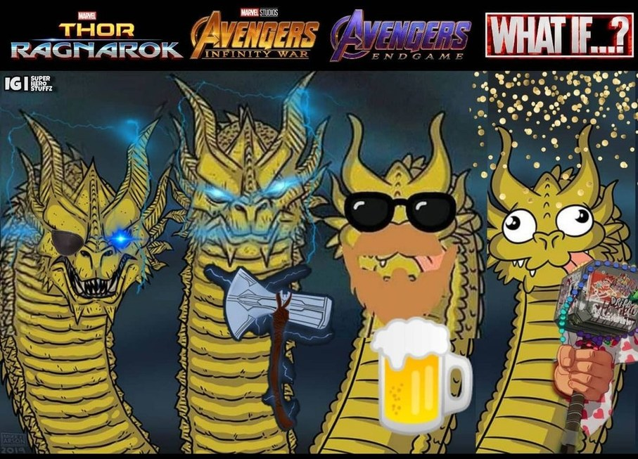 Thor d'EndGame>>>all - meme