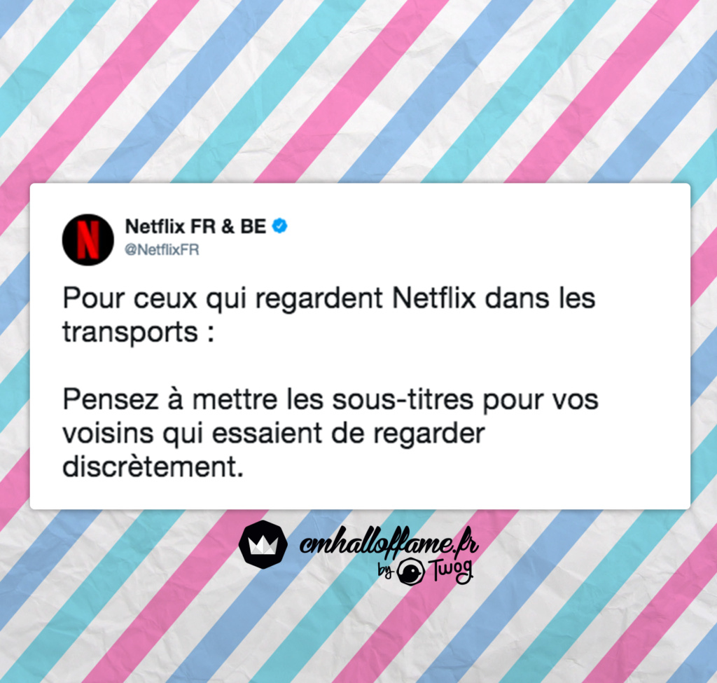 Les Meilleurs CM Netflix ! - meme
