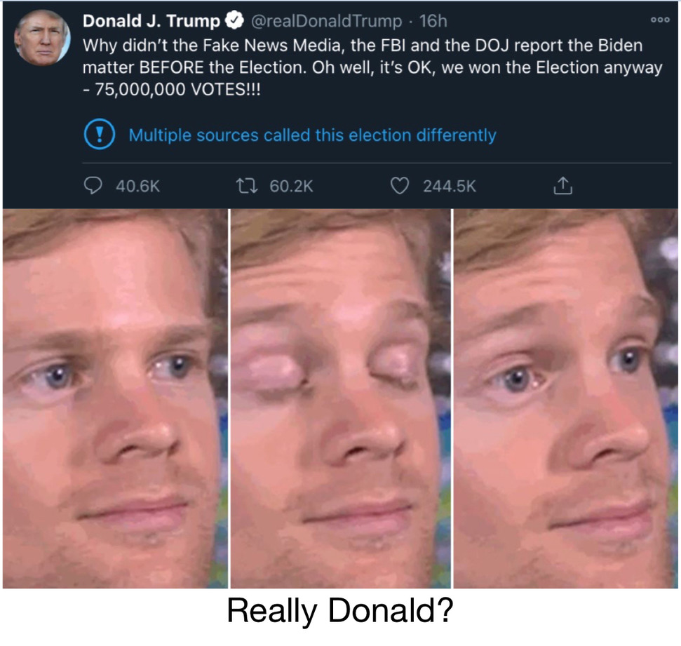 No shit twitter - meme