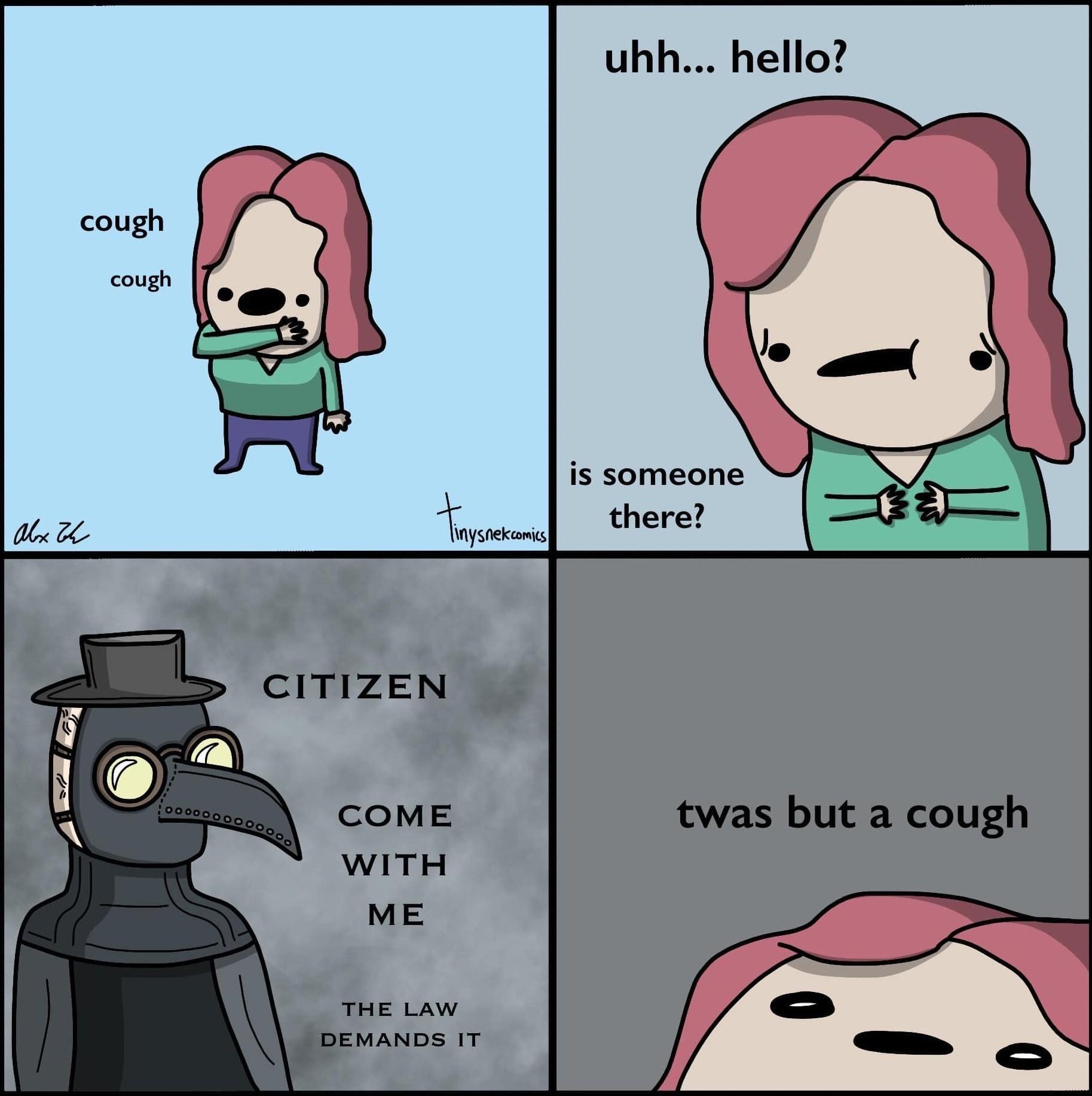 Cough = Punishment - meme