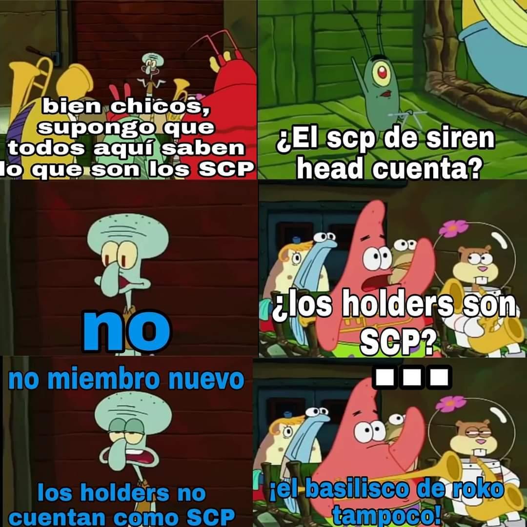 No son SCP - meme