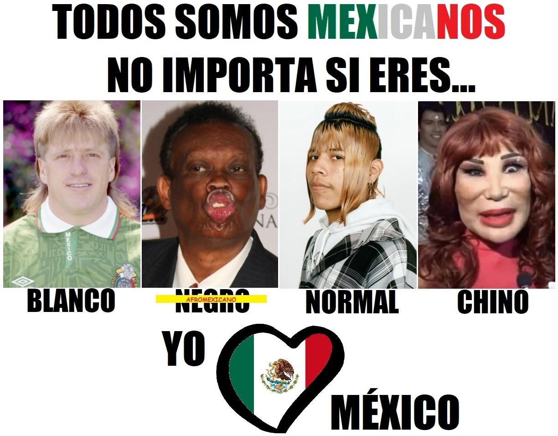 Todos somos mexicanos - meme