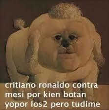 Yo por Rronaldo - meme