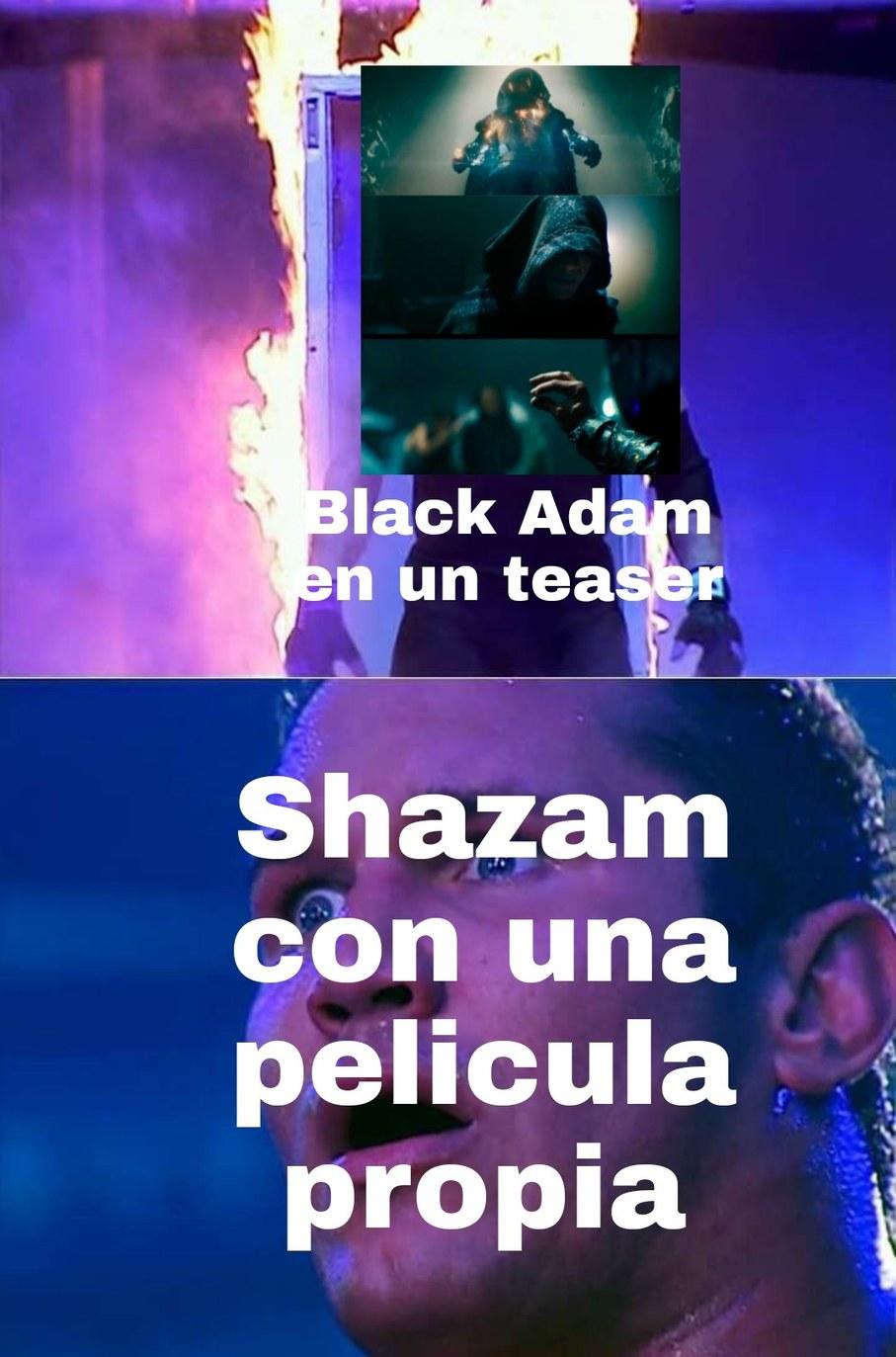 No es por ser hater de Shazam, de hecho me gusto la peli, pero el teaser supero a la peli - meme
