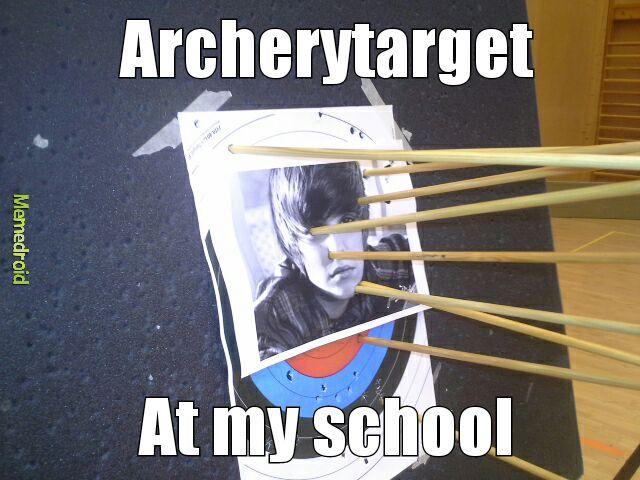just some target practice - meme