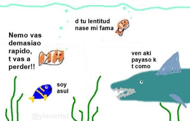 Nemo resumido xD - meme