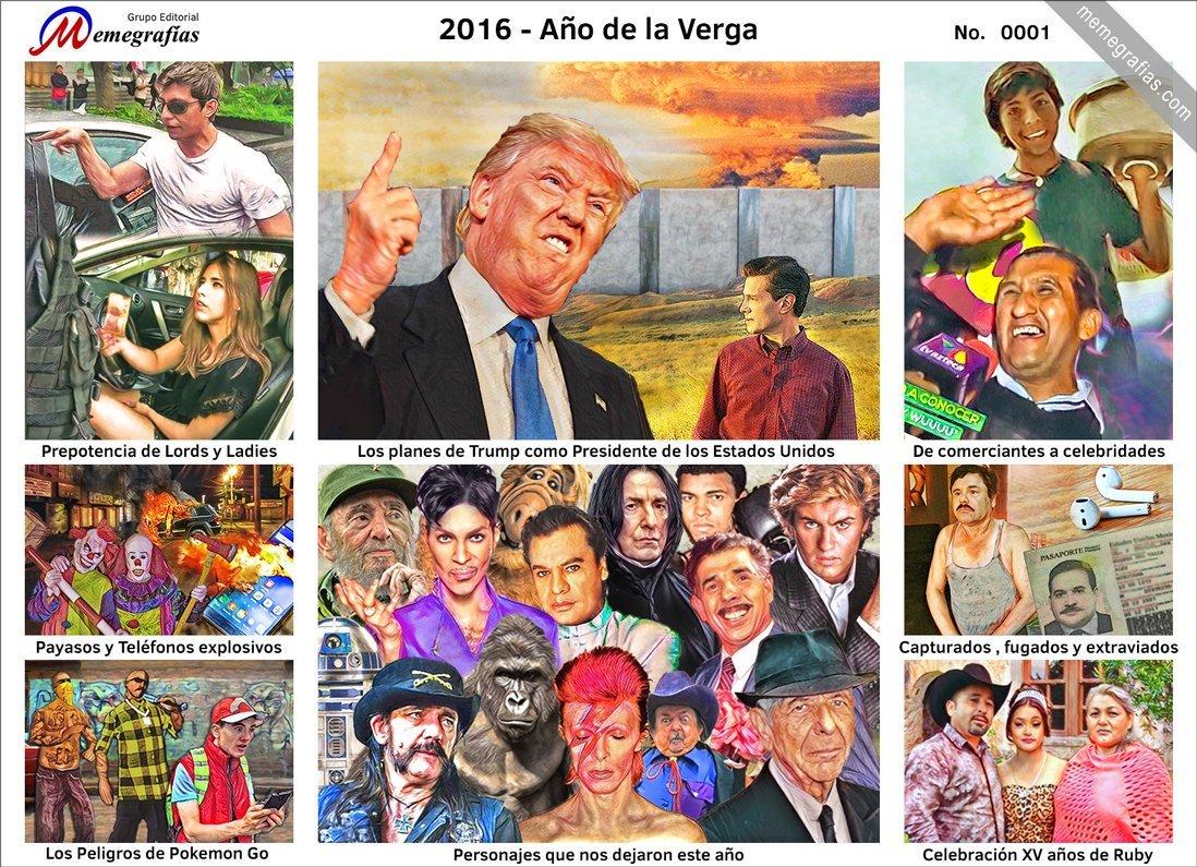 2016 resumen - meme
