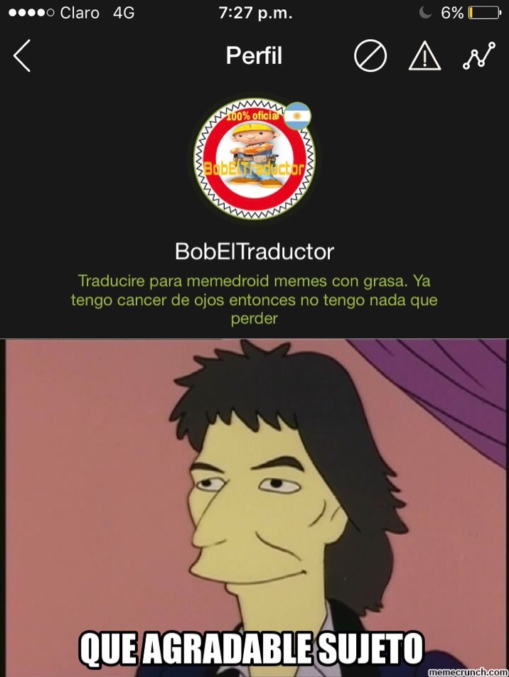 re 100 horneado - meme