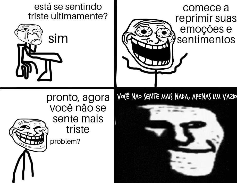 Aff tá em... Português? - meme