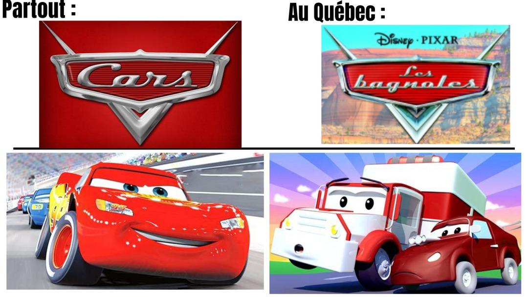 Cars est obsolète désormais - meme