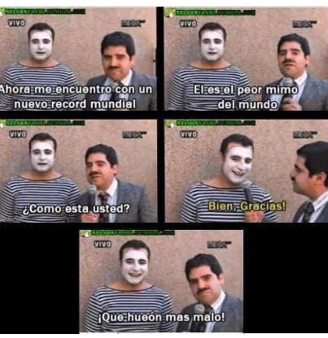 La wea bacan - meme