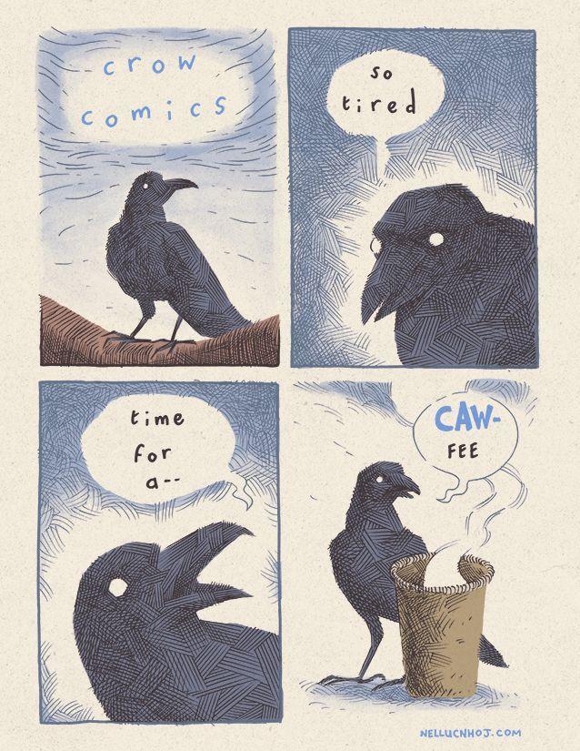 Crow comics by NHOJ - meme