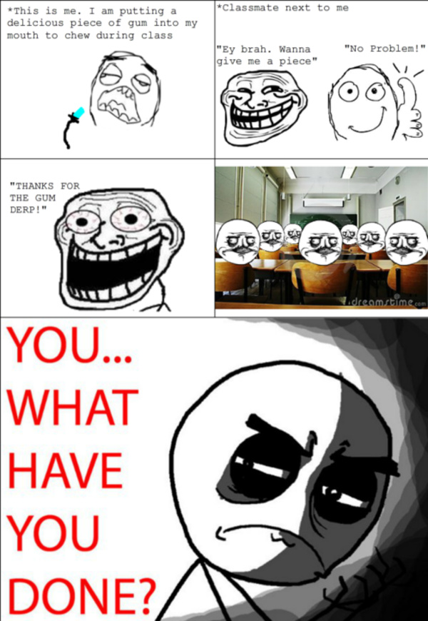 Student's worst nightmare - meme