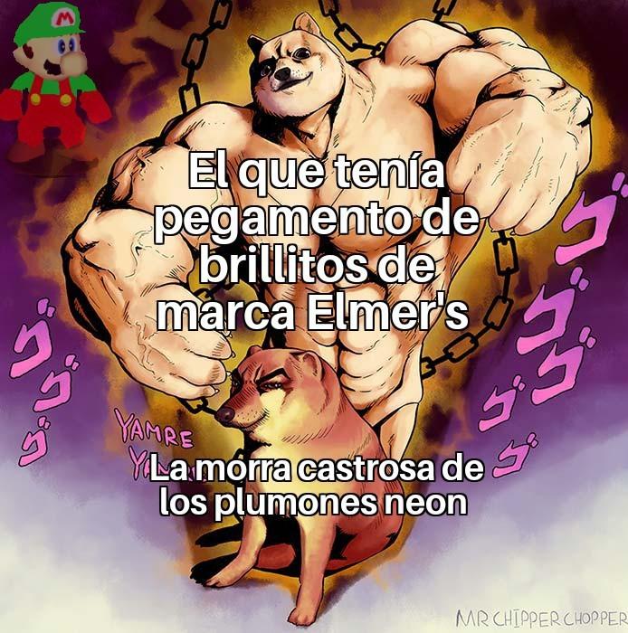 Elmer's - meme