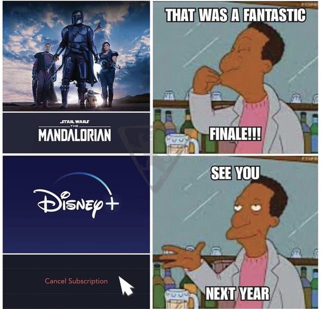 See you next year Disney - meme