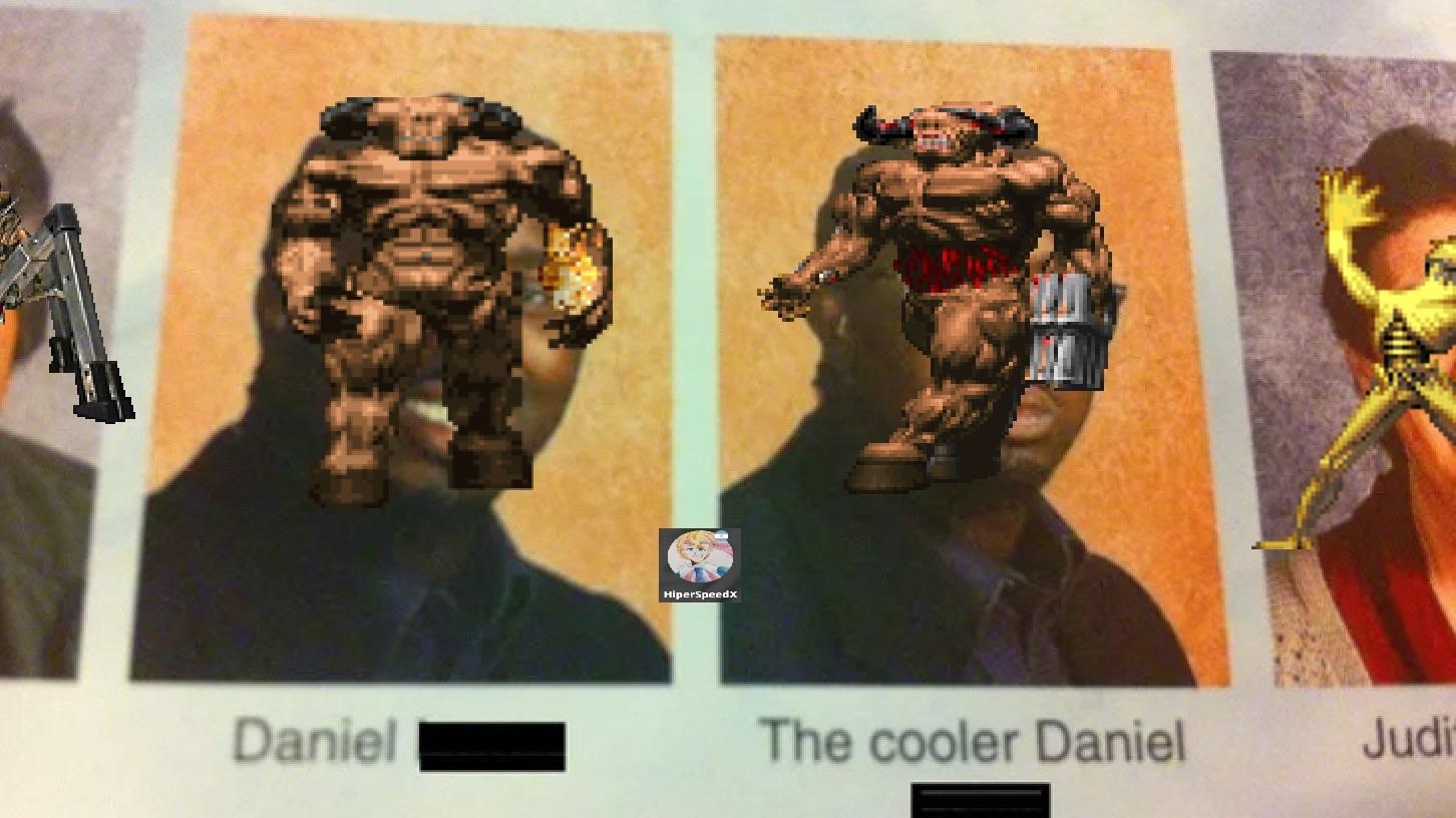 CONTEXTO: Uno es de Wolfenstein y el otro es de Doom - meme