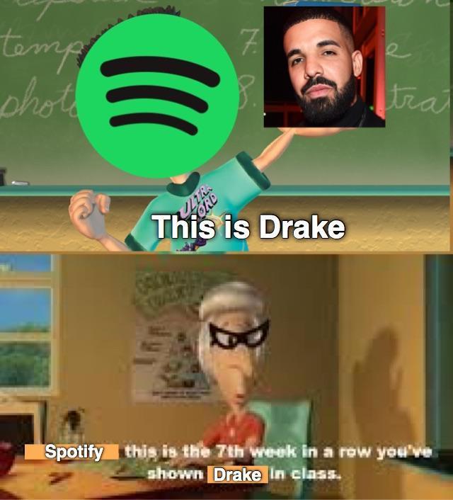Goddammit Spotify - meme