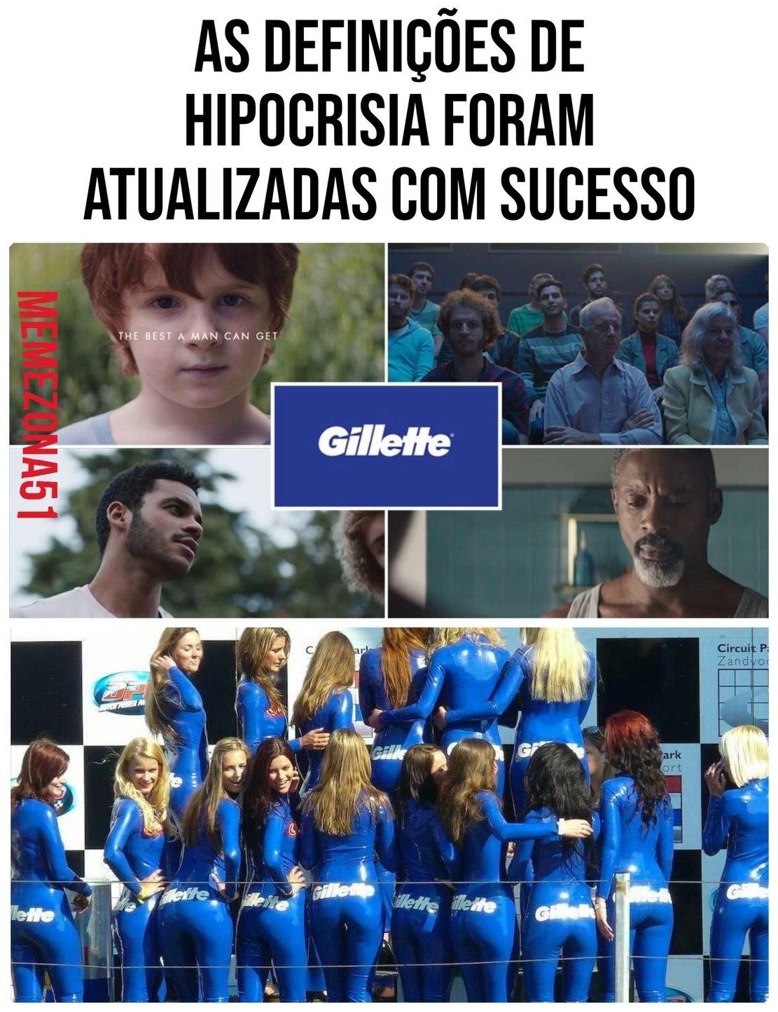 VTNC GILLETTE - meme