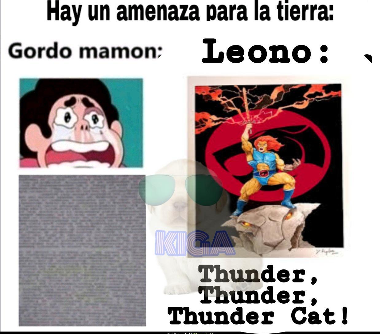 Un kpo el Leono - meme