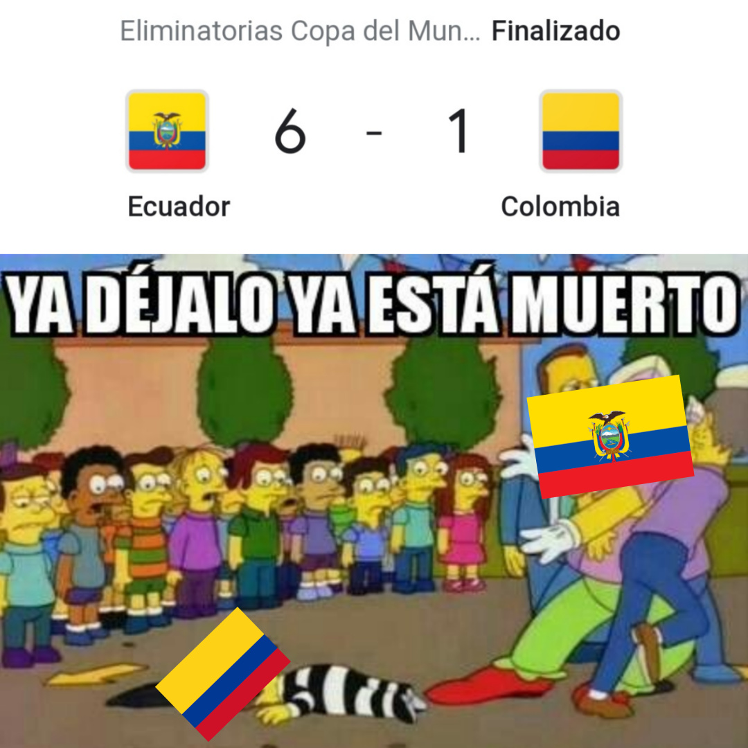 Lo dejo a sus conclusiones, por cierto, amo Colombia :) - meme