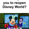 Disney Like Money