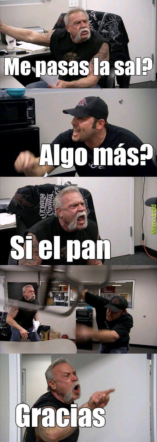 Conversación normal - meme