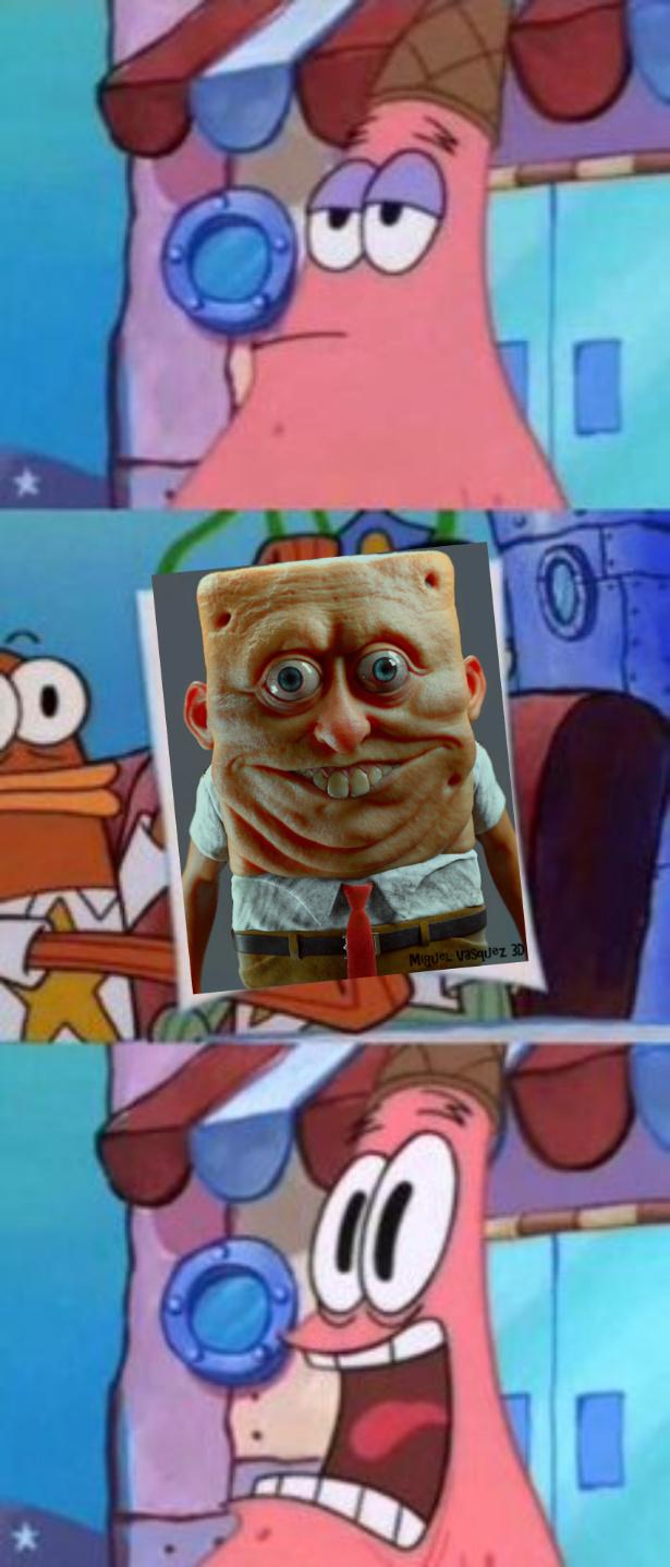 Spongebob Fa Paura - meme