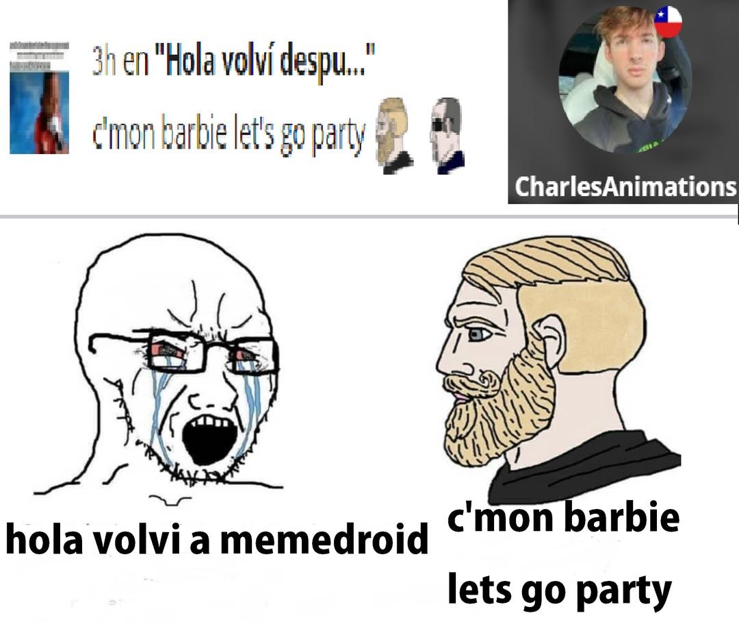 se me acabaron las ideas PDTA: no tengo ningun odio a ese meme, solo queria hacer un meme.