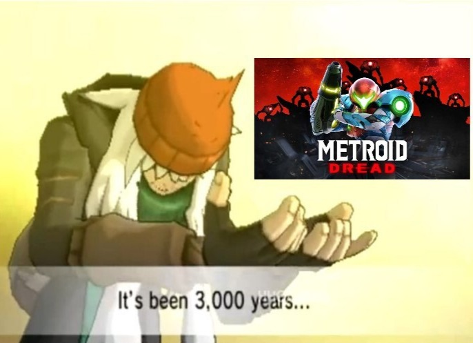 Nunca he probado un juego de Metroid pero este se ven interesante - meme