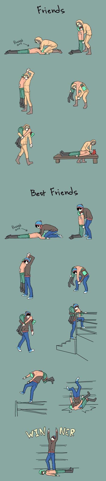 Les ami(e)s... - meme