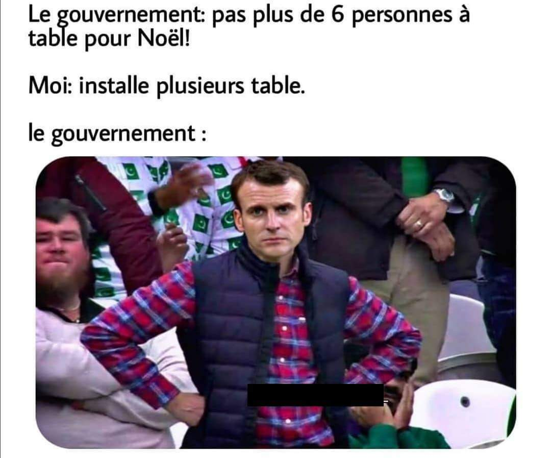 Sad macron - meme