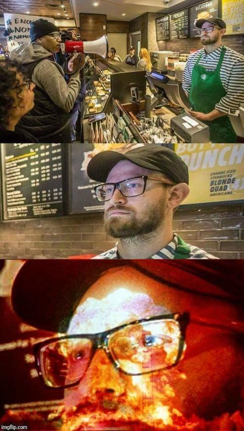 Starbucks controversy - meme