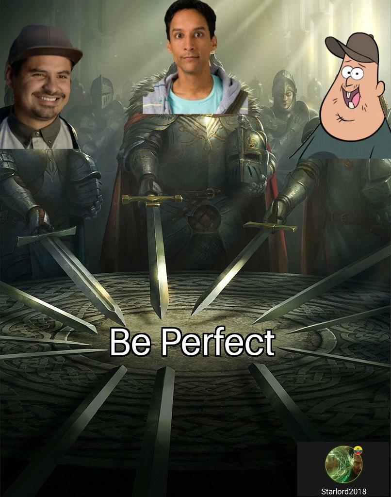 Luis, Abed and Soos - meme