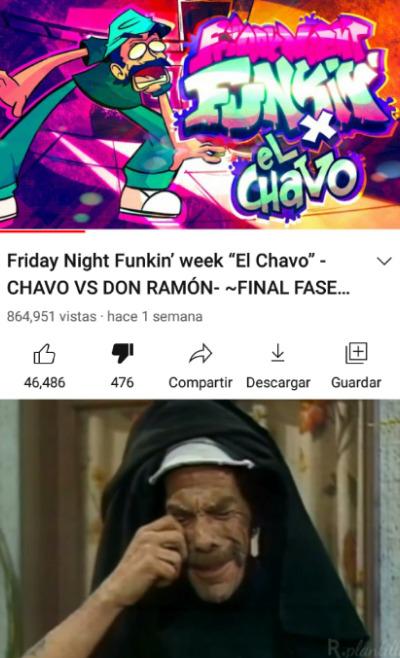 No, don Ramón que le hicieron!? :sadtroll: Pd: When FnF bad :greek: - meme