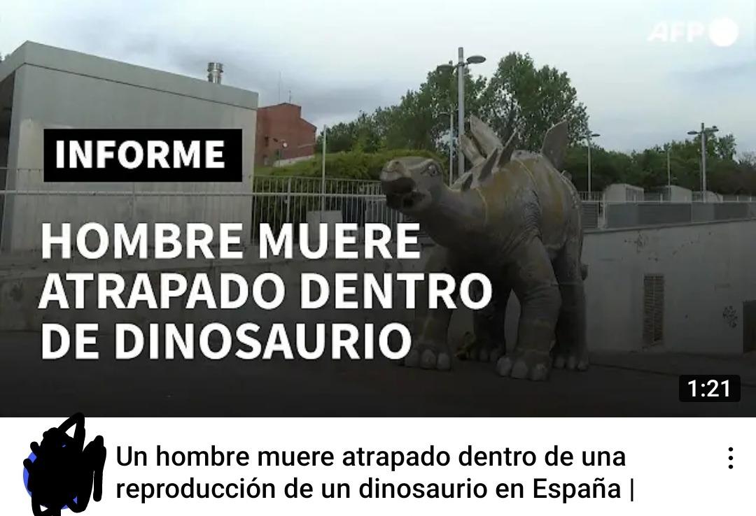 Los dinosaurios son venezolanos - meme