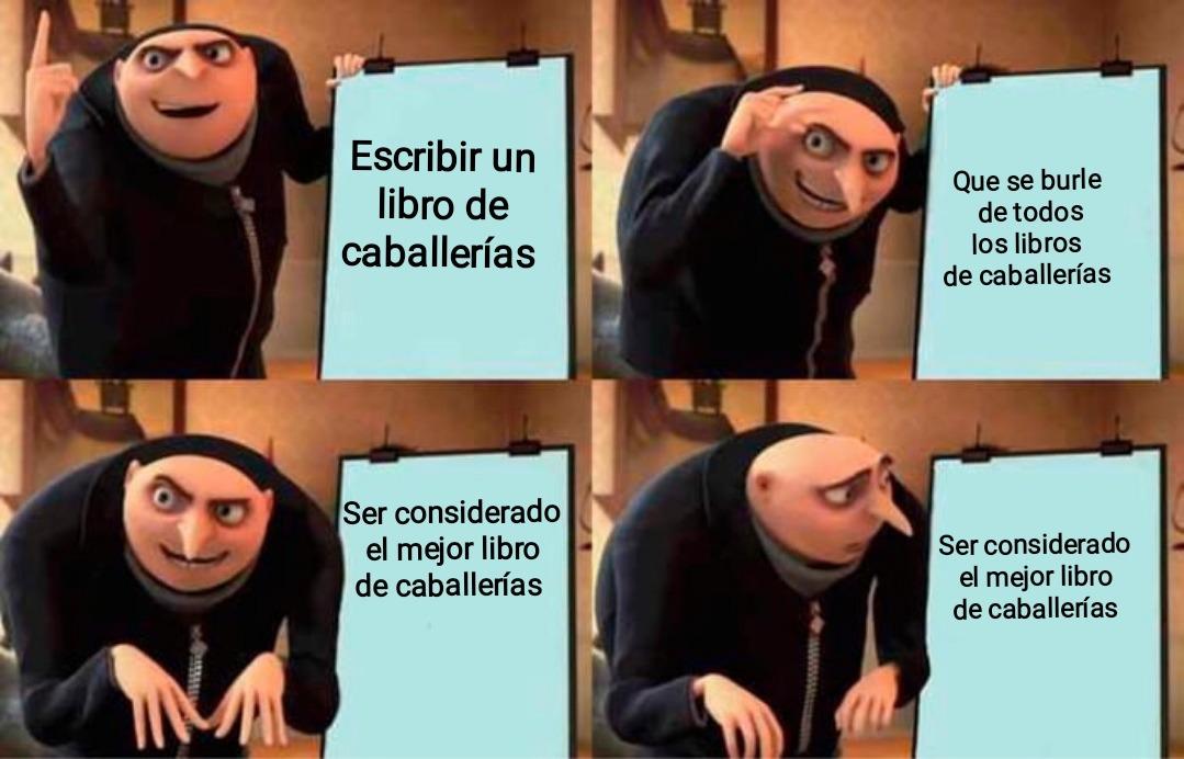 Cervantes - meme