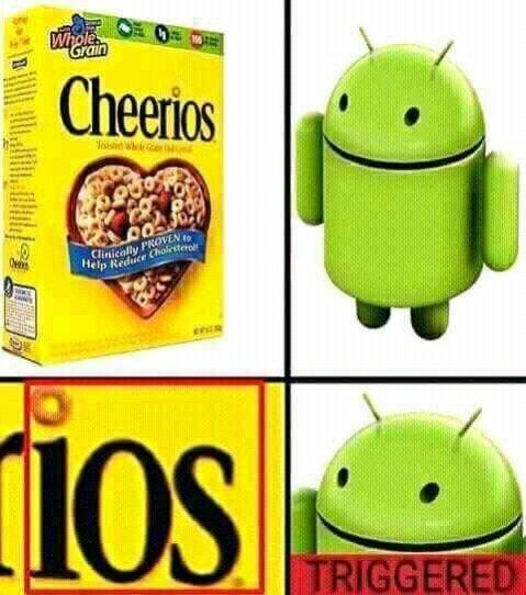 IOS - meme