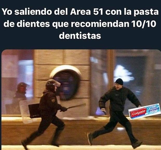 MENUDA MIERDA DE ATAQUE AL ÁREA 51 - meme