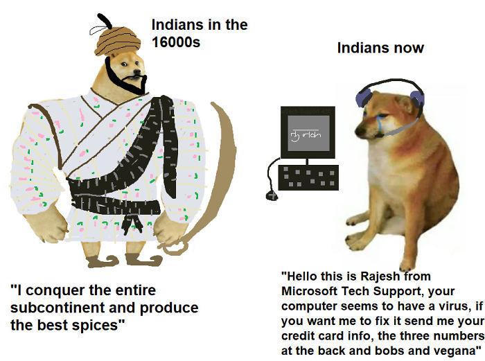 Indians got a big downgrade - meme