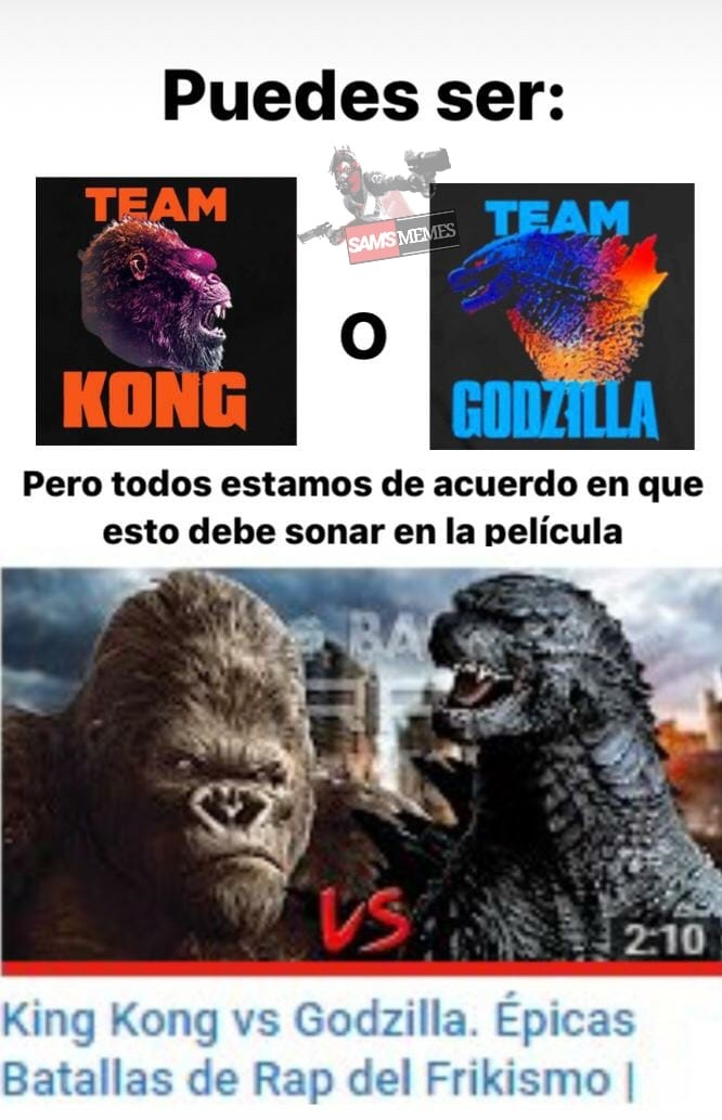 King Kong llegó.... - meme