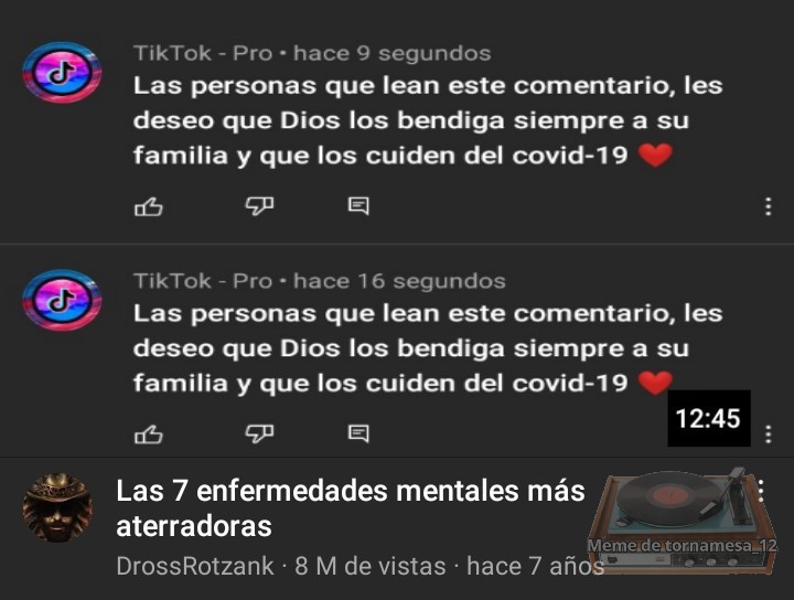 ODIO ESOS COMENTARIOS - meme