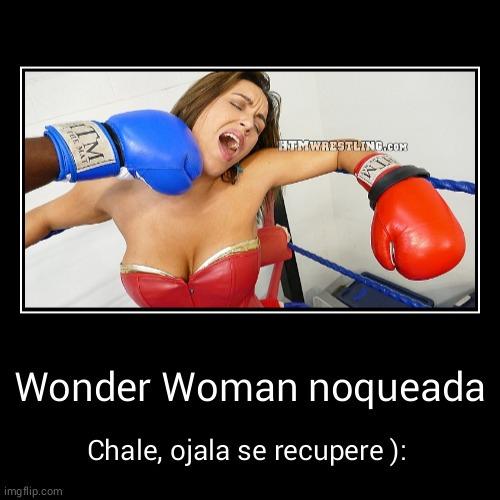 """Si quieren saber el nombre, busquen """"Wonder Megan Bound POV Boxing"""" - meme"""