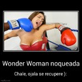 "Si quieren saber el nombre, busquen ""Wonder Megan Bound POV Boxing"""