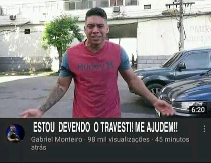 Ajuda Gabriel monteiro - meme