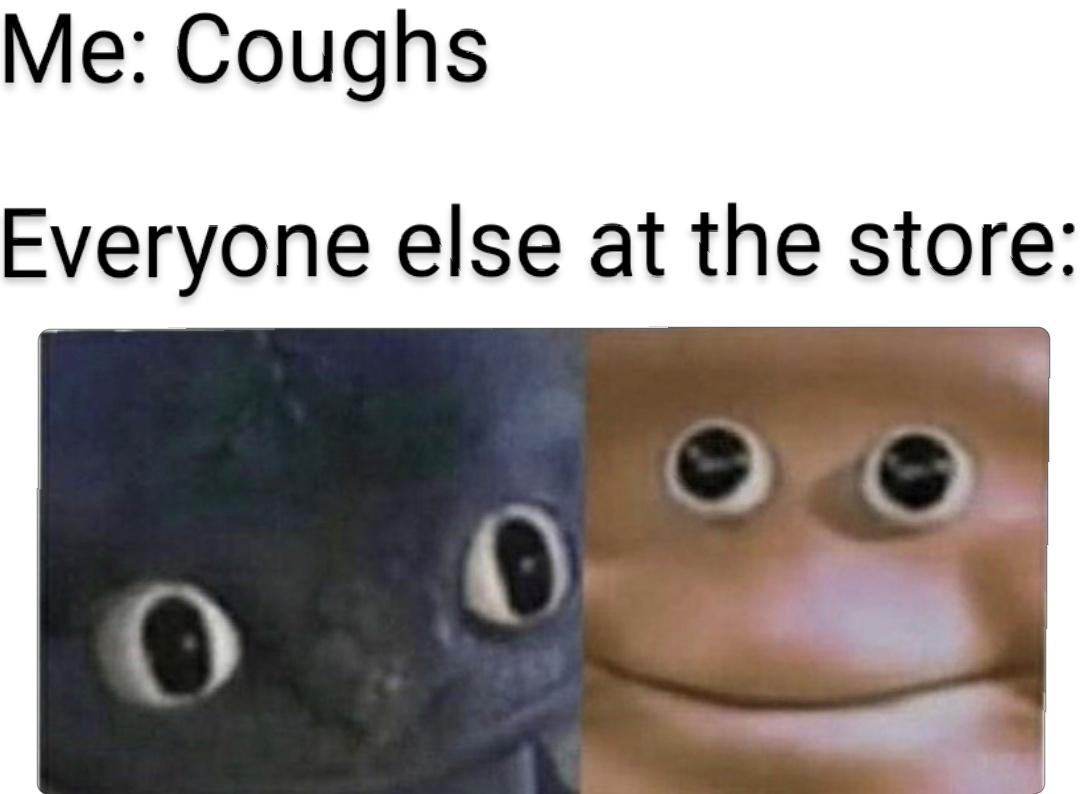 Oh oh, stinky - meme