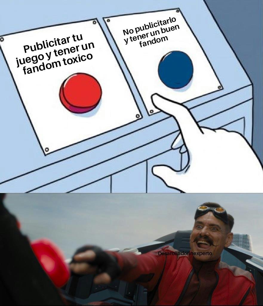 El origen de un fandom toxico en resumen - meme
