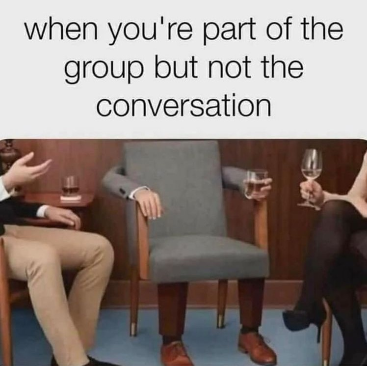 I am chair - meme