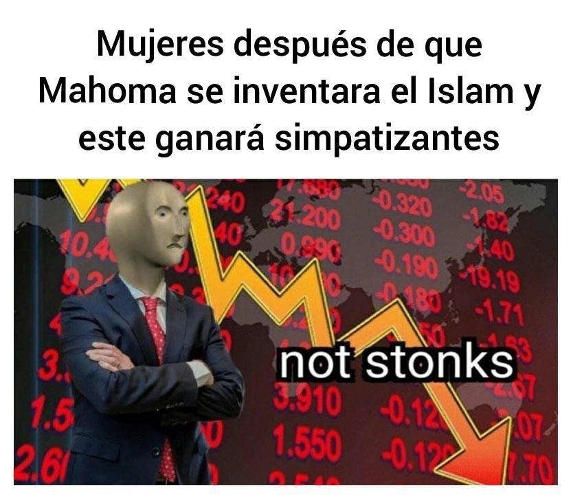 Lalalalalala (gritos de musulmanes antes de estallar) - meme