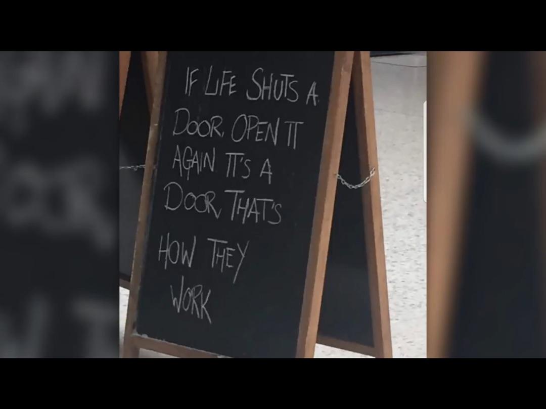 Easy to break open a window too! - meme