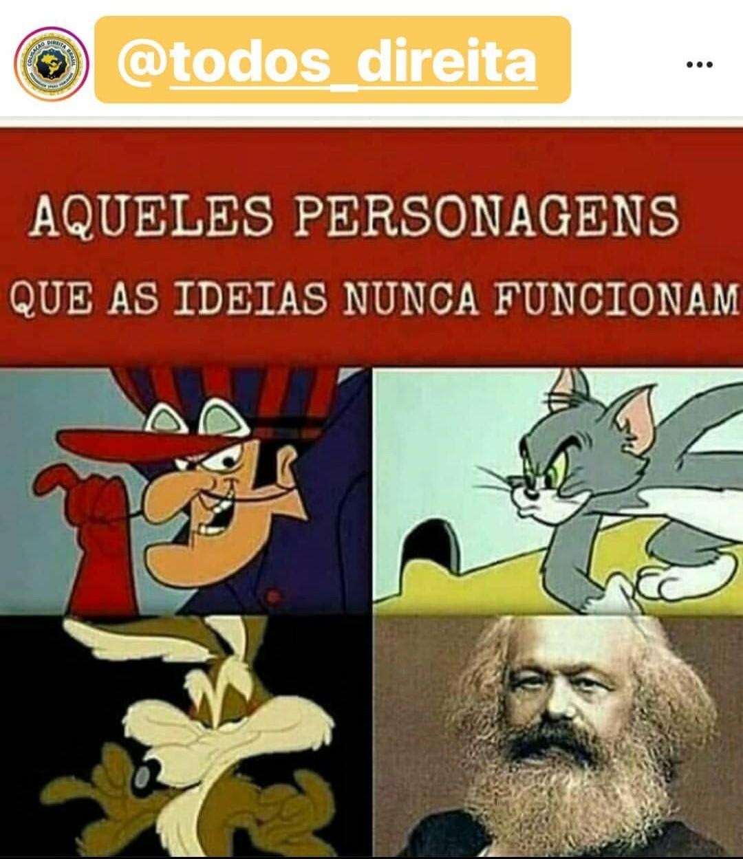 Maldito marxismo cultural - meme